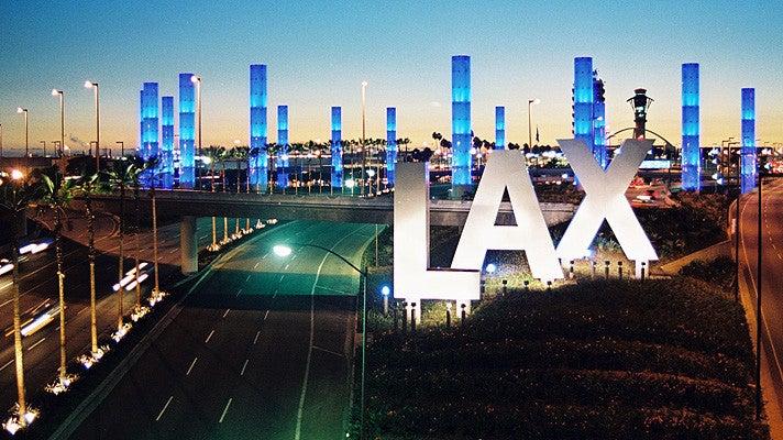 LAX Gateway Pylons